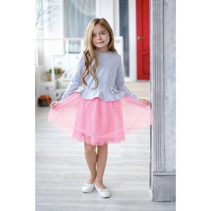Нарядное платье Kaftan. Цвет: розовый