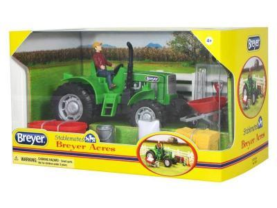 Трактор с аксессуарами Breyer