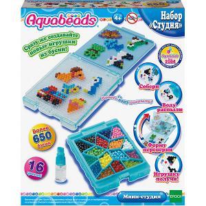 Игровой набор Aquabeads Мини-студия Epoch Traumwiesen. Цвет: бежевый
