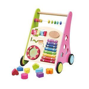 Игровой центр 2 в 1 Kids4kids Мои первые шаги. Цвет: зеленый/розовый
