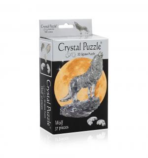 Головоломка 3D  Черный волк цвет: Crystal Puzzle