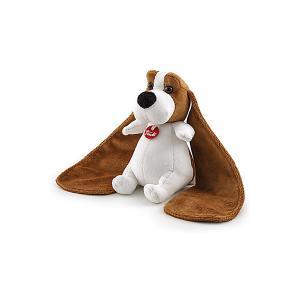 Мягкая игрушка  Бассет хаунд-ушастик, 10x16x9 см Trudi. Цвет: коричневый