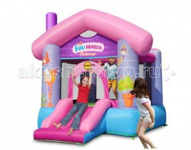 Надувной батут Забавный дом для принцессы Happy Hop