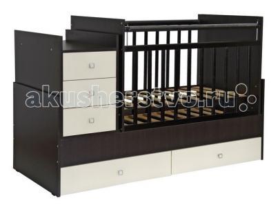 Кроватка-трансформер  1200 Фея