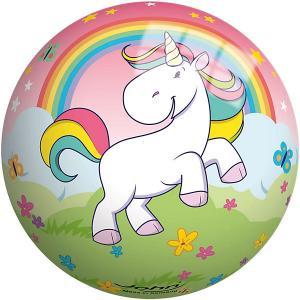 Мяч  Единорог 13 см John. Цвет: розовый
