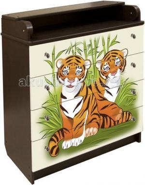 Комод  Тигры (ДСП) Влана