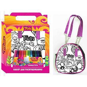 Набор для творчества Centrum Тролли Раскрась сумку