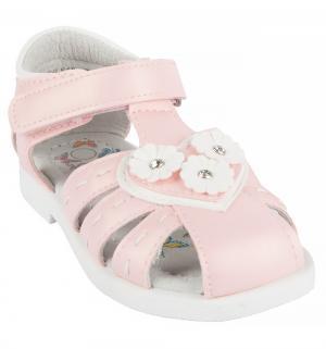 Сандалии , цвет: розовый Прыг-Скок