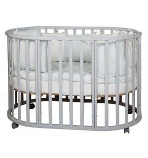 Кроватка  Piano, цвет: серый элит Nastella