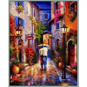 Картина по номерам Романтичная прогулка 40х50 см Schipper
