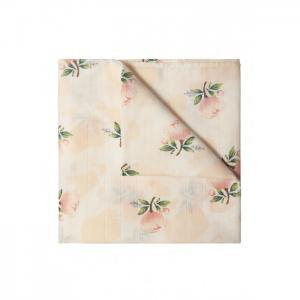Пеленка  муслин Розы 120х120 см Сонный гномик