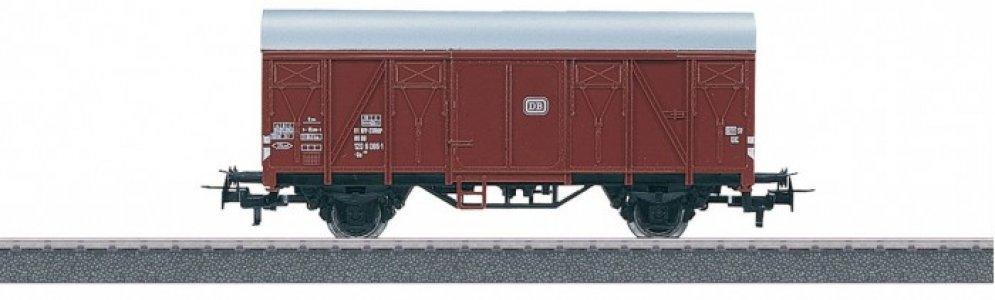 Крытый грузовой вагон тип Gs 210 Db Marklin