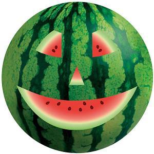 Мяч  Арбуз, 23 см Dema-Stil. Цвет: зеленый