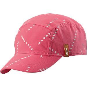 Кепка Lek  для девочки Reima. Цвет: розовый