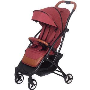 Прогулочная коляска Acarento Plaza, тёмно-красный лён Baby Hit. Цвет: темно-красный