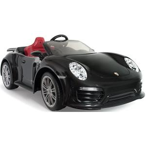 Электромобиль  Injusa Porsche 911 Turbo S, 12V, черный. Цвет: черный
