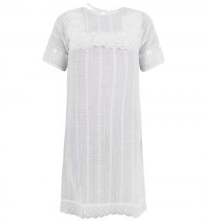 Крестильная рубашка  Летний Марафон Зайка Моя