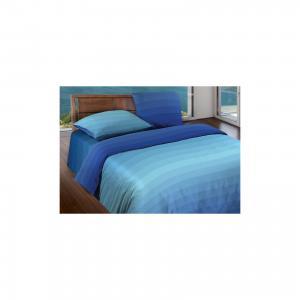Постельное белье 1,5 сп. Flow Blue БИО Комфорт,  Motion Wenge