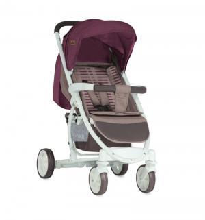Прогулочная коляска  S-300, цвет: бежевый/красный Lorelli