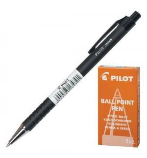 Ручка шариковая автоматическая  BPRK-10M черн Pilot