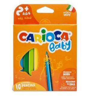 Набор крупных карандашей  Baby 10шт Carioca