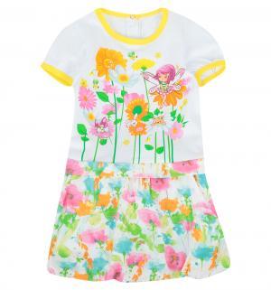 Платье  Феечка, цвет: мультиколор Soni Kids