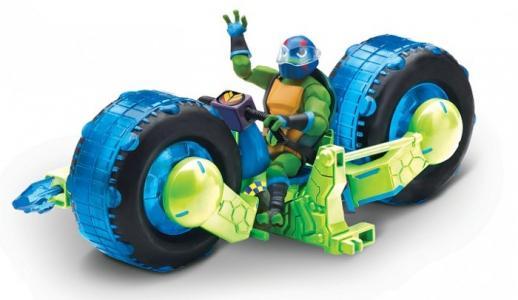 Мотоцикл с фигуркой Лео Playmates TMNT