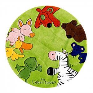 Ковёр Die Lieben Sieben 130 см 2195-01R Boing Carpet