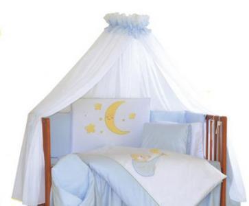 Комплект в кроватку  Shining Moon (7 предметов) Tuttolina