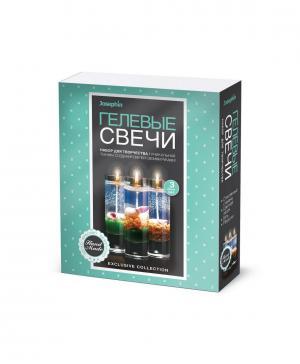 Гелевые свечи с ракушками Набор №4 Josephin