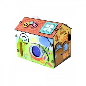 Деревянная игрушка  Бизиборд Чудо-дом Фабрика Мастер игрушек