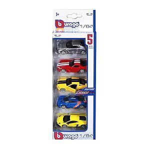 Набор Машинок  Vehicles, 1:64 Bburago