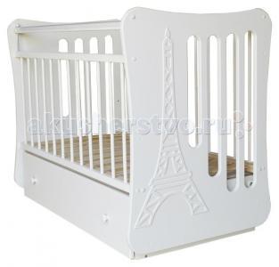 Детская кроватка  Вояж маятник поперечный Островок уюта