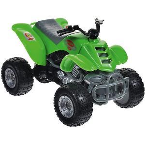 Мотоцикл  Quadrobike Monster 1:16, зеленый Autotime. Цвет: зеленый