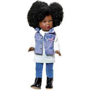 Кукла  Pre-spring Паулина, африканка Vestida de Azul