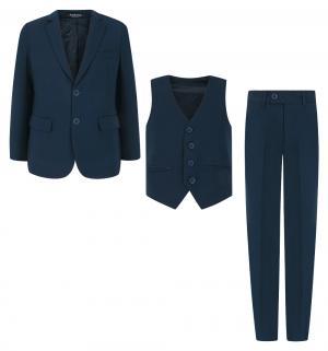 Костюм брюки/пиджак/жилет , цвет: синий Rodeng