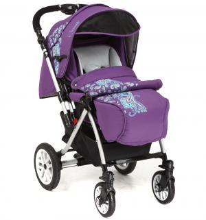 Прогулочная коляска  S-803WF Сибирь, цвет: фиолетовый Capella. Цвет: фиолетовый