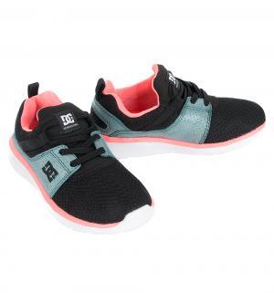 Кроссовки , цвет: розовый/черный DC Shoes