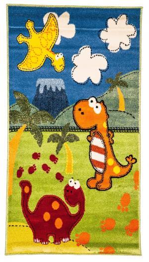 Ковер Bambino  с рисунком динозавры, размер 117х170 Sai Carpets