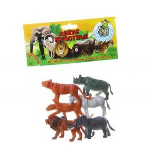 Набор фигурок  Ребятам о зверятах Дикие животные 9 см Bondibon