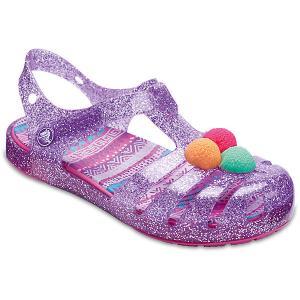 Сандалии CROCS Isabella Novelty Sandal. Цвет: лиловый