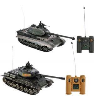 Радиоуправляемый танк  Танковый Бой 1:28 Пламенный мотор