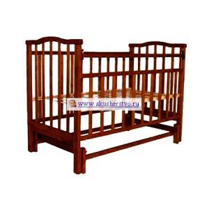 Детская кроватка  Золушка-3 маятник поперечный Агат