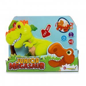 Динозавр Ругопс, со светом и звуком, салатовый, Junior Megasaur Dragon-i