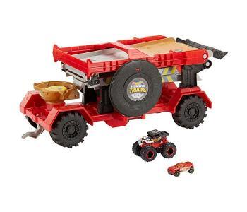 Игровой набор Монстр трак Передвижной трамплин Hot Wheels
