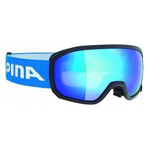 Горнолыжные очки  SCARABEO JR. MM black blue sph. S3/MM S3 Alpina. Цвет: синий