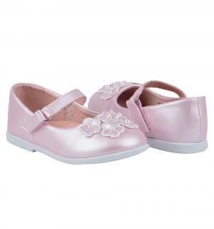 Туфли , цвет: розовый Прыг-Скок