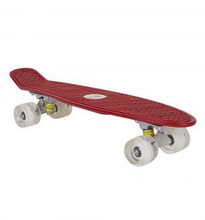 Скейтборд  JC-001, цвет: красный Leader Kids