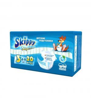 Подгузники  для детей Super Econom р. 3 (4-9 кг) 20 шт. Skippy