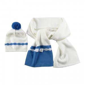Комплект : шапка и шарф Wojcik. Цвет: кремовый